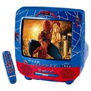 Spider-Man TV and Dvd Combi