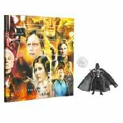 Star Wars Darth Vader Figure and Collectors Coin Folder