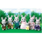 Sylvanian Families Celebration Grey Rabbit Family