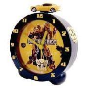 Transformers Bumblebee Lights and Sounds Topper Alarm Clock