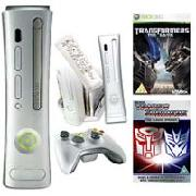 Xbox 360 Full System Transformers Pack