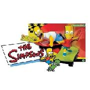 "Scalextric - ""The Simpsons"" Skateboard Chase"