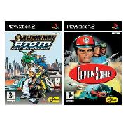 Sony - Action Man Atom Plus Captain Scarlet Twin-Pack