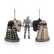 Dr Who Remote Control Dalek and Cyberman Battle Pack