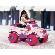 Battery Ride On 6V Battery Ride On Barbie Car