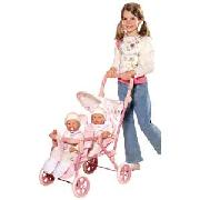 Baby Annabell Double Buggy.