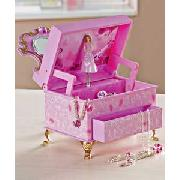 Barbie Dressing Table Musical Jewellery Box.