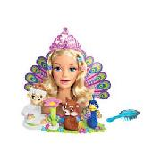 Barbie Island Princess Sing and Style Rosella Head.