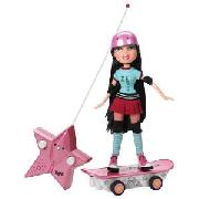 Bratz Extreme Radio Control Skateboarder Doll Assortment.