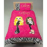 Bratz Movie Starz Single Duvet Cover Set - Pink.