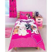 Bratz Ponyz Single Duvet Cover Set - Pink.