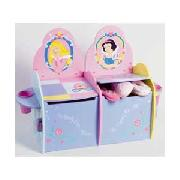 Disney Princess 2 Seater Toy Box.