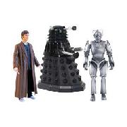 Doctor Who 5In Doomsday Figure Set.