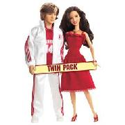 High School Musical Gabriella and Troy Gift Pack.