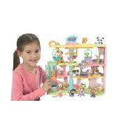 Littlest Pet Shop Play and Display Pet Town.