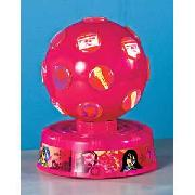 Pink Bratz Stars Disco Ball.
