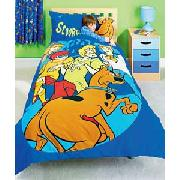 Scooby Doo Cuddle Buddy Duvet Cover Set - Blue.