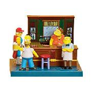 Simpsons Bar Buddies Talking Alarm Clock.