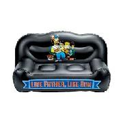 Simpsons Inflatable Sofa.
