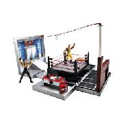 Wwe Crash and Bash Micro Ring Plus 2 Free Figures.