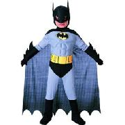 Batman Muscle Chest Costume, Age 8 - 10 Years