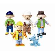 Bob the Builder Articulated Figure Set
