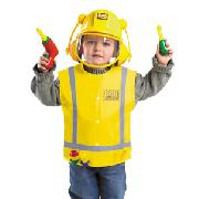 Bob the Builder Costume with Sound, Age 3 - 5 Years