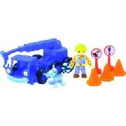 Bob the Builder Friction Lofty Playset