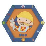 Bob the Builder Moulded Wall Clock