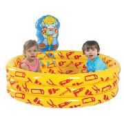 Bob the Builder Spray Paddling Pool