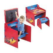 Disney Pixar Cars Easel Desk and Stool