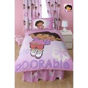 Dora the Explorer 'Adorable' Duvet Cover Set