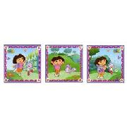 Dora the Explorer Art Squares