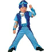 Lazy Town Sportacus Costume, Age 3 - 5 Years