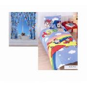 Noddy Duvet Cover Set and 66In x 72In Curtains Set