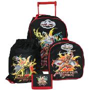 Power Rangers Mystic Force 4Pc Luggage Set