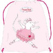 Angelina Ballerina 40cm Kit Bag Pink