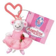 Angelina Ballerina - Angelina Key Chain Plush