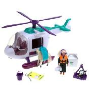 Animal Hospital Air Rescue Helicopter