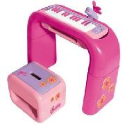 Barbie Keyboard with Stand and Stool