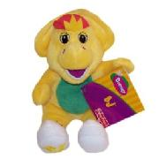 Barney Plush Toy: Bj