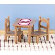 Breakfast Table and Chair (Sylvanian Families)