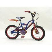 Childrens Spiderman 16inch Wheel Junior Bike