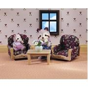 Country Armchairs and Table (Sylvanian Families)