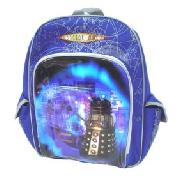 Doctor Who Backpack with Three Pockets