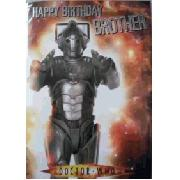 Doctor Who Brother Sound Birthday Card