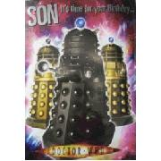 Doctor Who Sound Son Birthday Card