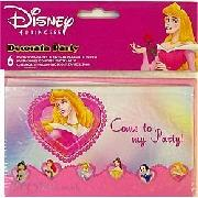 Invites Disney Princess 6 Pack