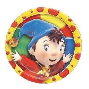 Noddy Party Plates 8 Pack