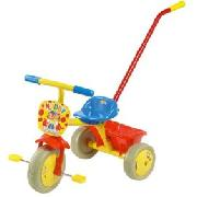 Noddy Trike with Detachable Parent Handle